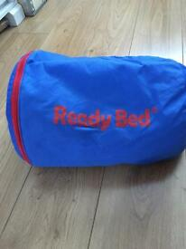 Fantastic single blow up Spider-Man ready bed with bag and pump!