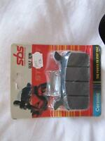 rear brake pads, Harley, 668LF rear