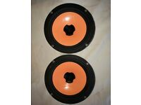 "Hertz 140w 6"" car speakers"