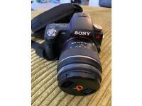 Sony SLT A55V Camera With Lenses