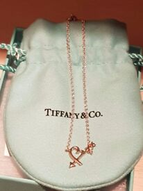 Tiffany Loving Heart Bracelet - Size M