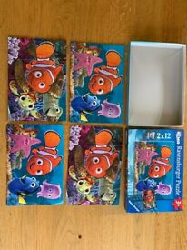 Disney jigsaws (Frozen and Nemo) 18mo-3y