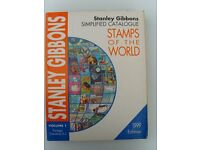 Stanley Gibbons Stamp Catalogues.