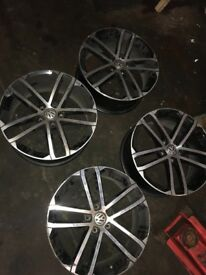 Golf GTD alloys