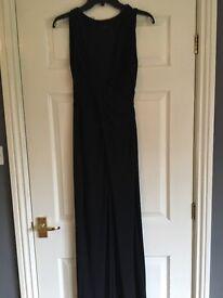 Coast black occasion Maxi Dress size 8
