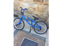 BMX , it was 140pounds brand new but because of the age and marks selling for 20
