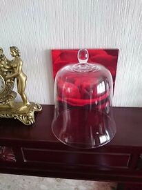 Glass bell protection cover