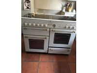 Gas cooker and hood