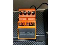 Hot head metal distortion pedal