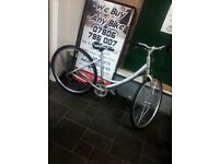Good Condition Giant Expression Hybrid Bike