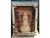 Paint your own pottery Fairy money box