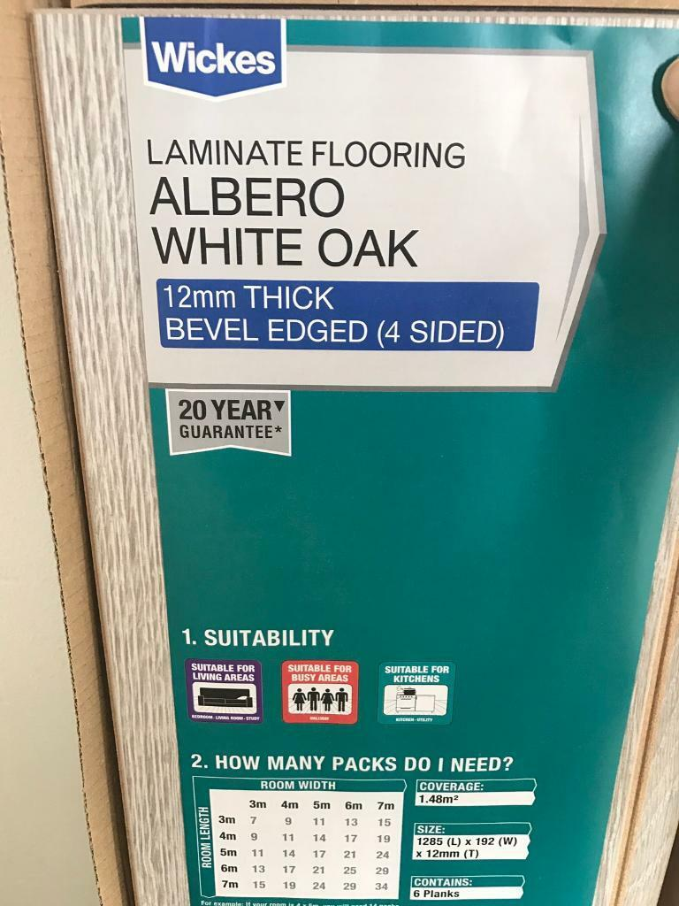 Wicks Albero White Oak Laminate Flooring