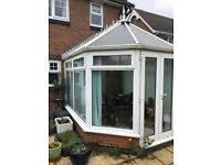 Used white Victorian conservatory