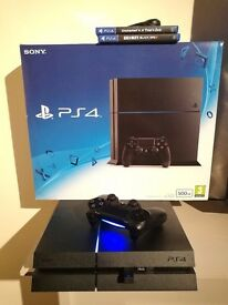 PS4 + 2 games for sale £190 ONO