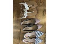 Ladies shoes/ sandals/ flats