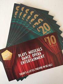 £150 Theatre Tokens