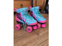 Girls roller boots - size 2