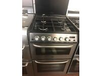 60CM STAINLESS STEEL ZANUSSI GAS COOKER