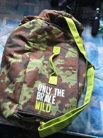 Diesel only the brave bag.
