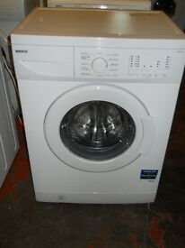 Beko WM622w washing machine 1200 spin (Variable) 6kg recon motor new door seal As New £95