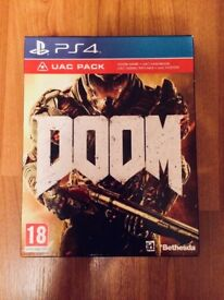 Doom UAC Pack PS4 Game - As New