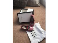 BRAND NEW girls gucci ballet pumps UK6.5