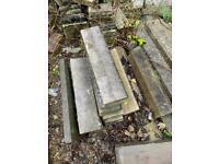 Concrete Edging Stones Never Used!