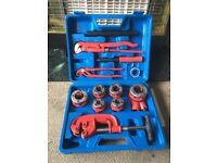 bspt pipe thread cutting kit 10 piece