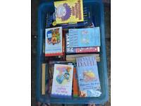 Box of kids books
