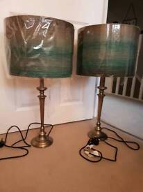 Pair of large John Lewis table lamps