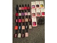 CND Polishes and glitter for sale £270