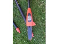 Black and decker chainsaw - repair