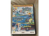 Pokemon 3 dvds