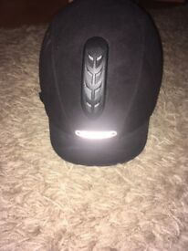 3 junior horse riding hats for sale