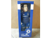 """Official Licensed product of Chelsea FC """"CESC FABREGAS"""" 45cm Sports Doll. New item"""