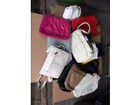 Hand bags. Clutch bags. Vintage