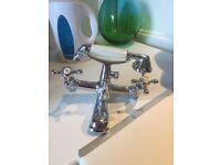 Mixer bath taps