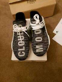 Pharrell Williams x adidas NMD Hu Trail Black Size 8.5