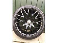 Cades 17 inch alloy wheels brand new