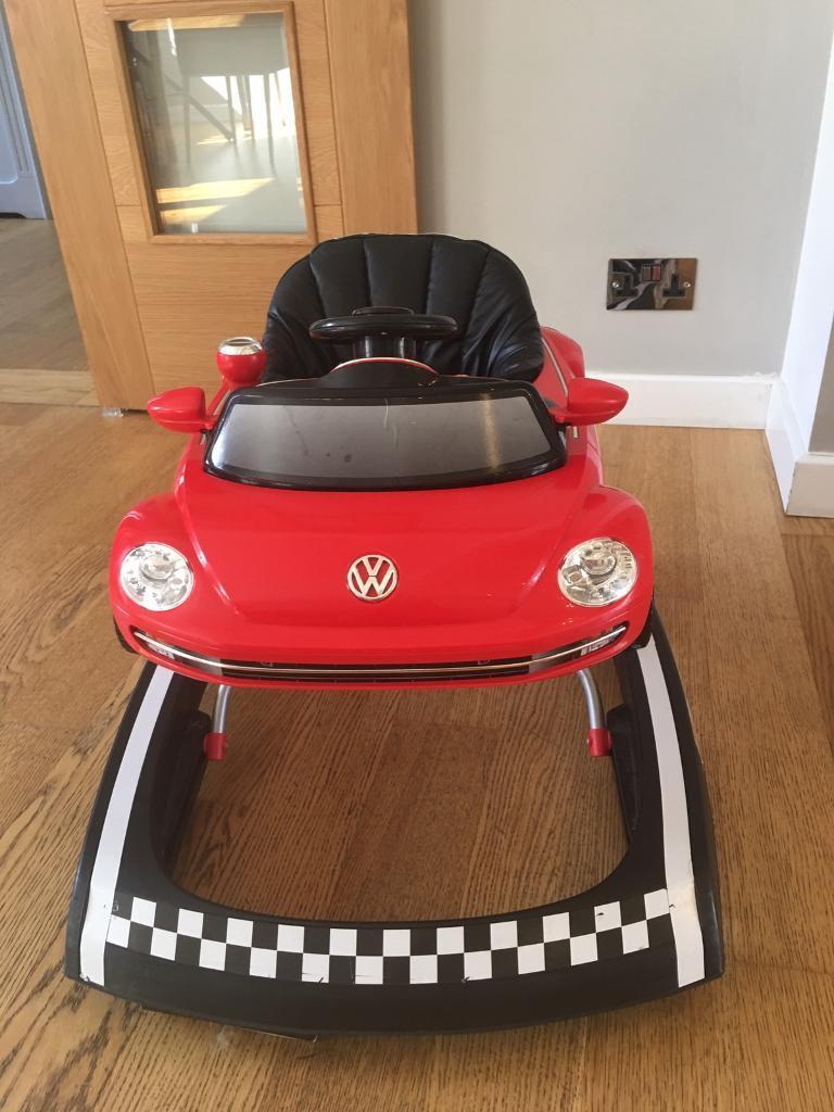 toys beetle en volkswagen red uk hape walker toy