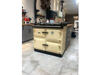 NEW Aga Rayburn 680 KCD kerosene oil range cooker in Cream - ex display, unused