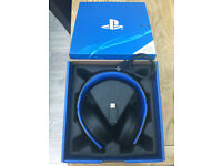 Sony playstation Gold Wireless Headset - 7.1 Surround Sound. Works With PS3, PS4 & PS Vita.