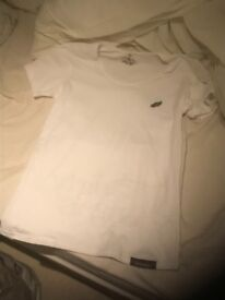 Dirty Angels men's white t shirt - size small