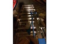 Ladder, Mac Allister Aluminium Triple Extension 3 In 1