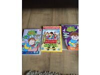 21 Horrid Henry Books and 3 DVDs