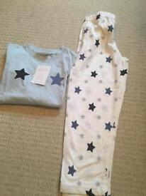 Little White Company PJs Age 5-6