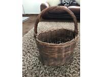 Beautiful Giant Wicker Basket
