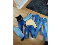 Girls clothes 9-10 11-12