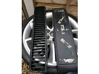 Fabia vrs badge, plate surround an grill