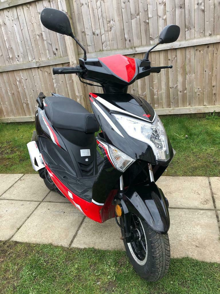 Lexmoto Echo 50cc Scooter Moped Lj50qt 3l